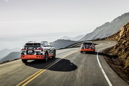 El Audi e-tron promete regenerar 1 kilómetro de autonomía por cada kilómetro recorrido cuesta abajo