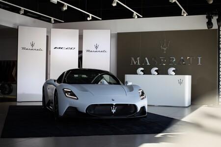 Maserati MC20 frontal