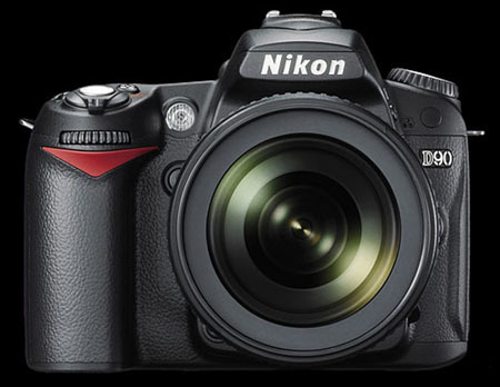 Nikon D90, con grabación de vídeo y GPS