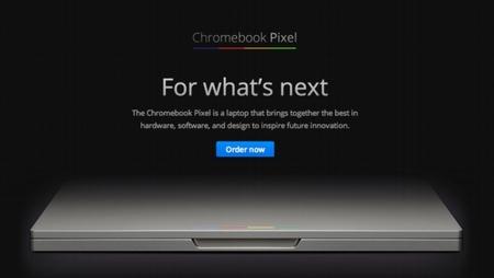 Chromebook Pixel, la laptop táctil de Google.