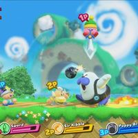 Kirby afina su debut en Nintendo Switch con un tráiler delicioso de Kirby Star Allies