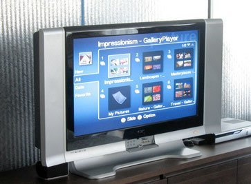LCD Media Center de Acer