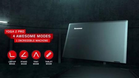 Modos Lenovo Yoga 2 Pro