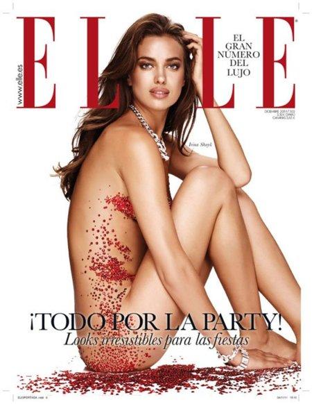 Irina Shayk se desnuda en la portada de Elle