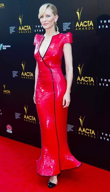 Duelo de estilo de las actrices australianas Nicole Kidman y Cate Blanchett