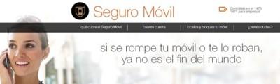 Orange estrena nuevo seguro para móviles, a salvo de daños y robos desde tres euros al mes