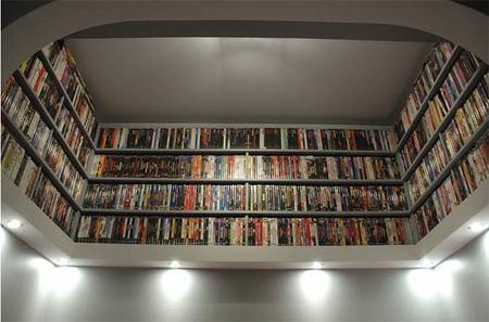 Una buena idea: crea una biblioteca sobre tu cama