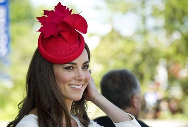 Catherine Middleton deslumbra en su segundo día en Canadá