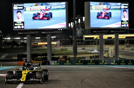 Ricciardo Abu Dabi F1 2020