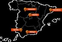 La fibra óptica de Orange llega a Málaga