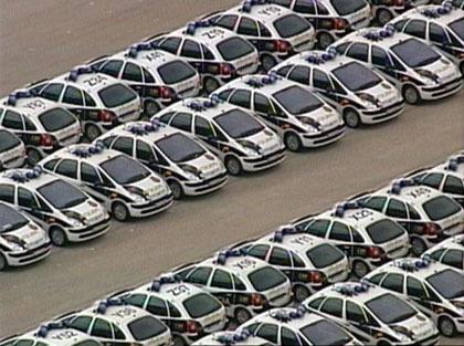 Especial coches policiales: España