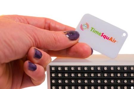Lector de tarjetas NFC de TimeSquAir