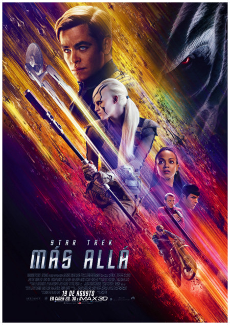 """""""Star Trek: Más allá"""" llega a los cines la última aventura del Enterprise"""