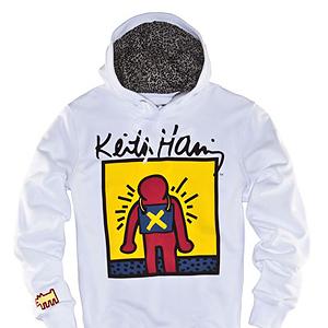 Las sudaderas y camisetas de Zara by Keith Haring