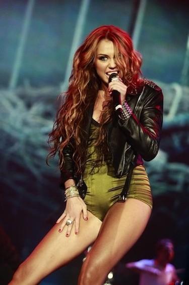 Boquitas de piñón: Miley Cyrus