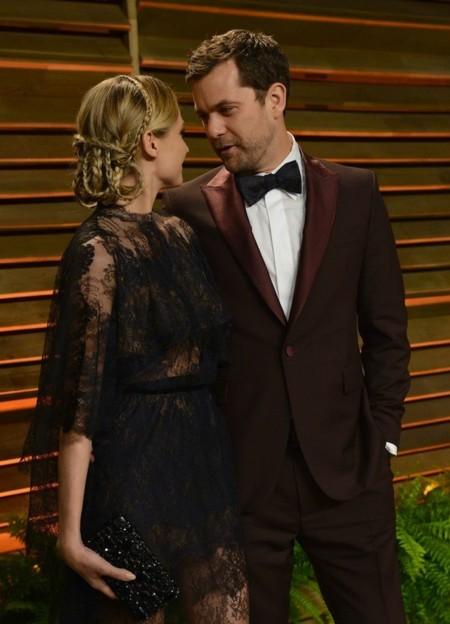 Diane Kruger con encaje y transparencias de Valentino alta costura en la fiesta Vanity Fair