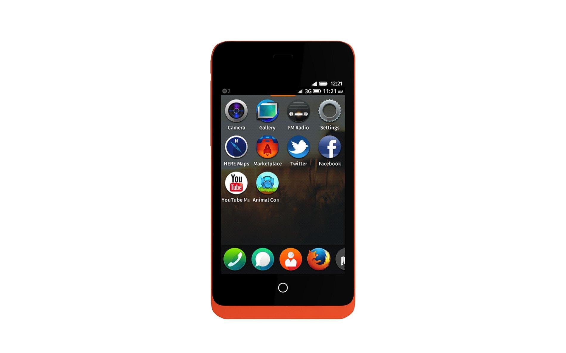 GeeksPhone con Firefox OS