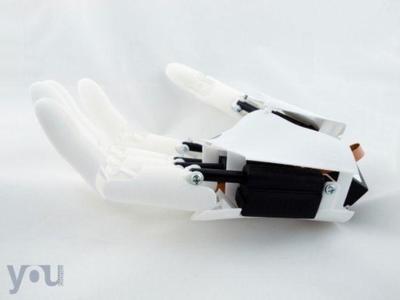 Youbionic aspira a crear una mano biónica funcional que pueda ser imprimida en 3d