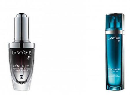 Lancôme como ejemplo de rutina cosmética anti-edad: serum + tratamiento a elegir