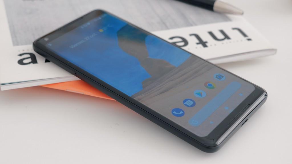 Pixel 2 XL diseño frontal