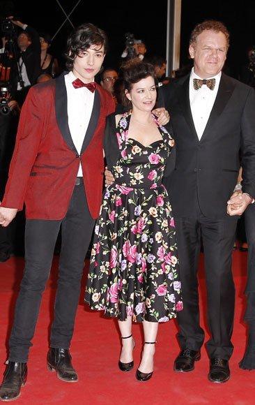 Ezra Miller en el Festival de Cannes