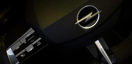 Opel Astra Teaser Interior