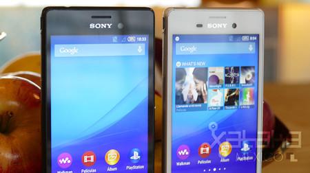 Sony Xperia M4 Aqua Frente