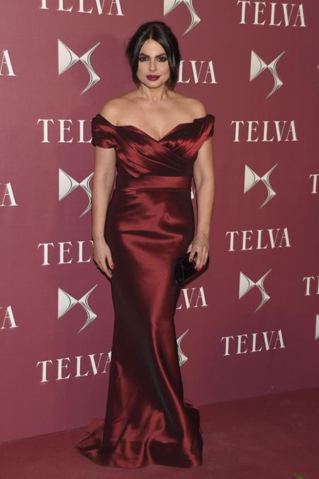 Marisa Jara en la gala de premios T de Telva 2014