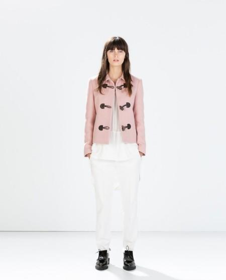 Trenca Rosa Zara