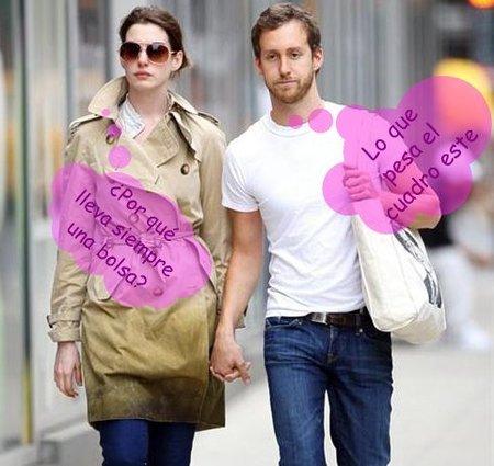 A Anne Hathaway le salen rana todos los novios