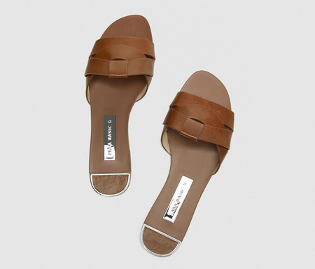 Sandalias Zara Saint Laurent
