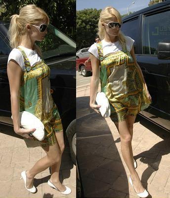 El look hippie de Paris Hilton