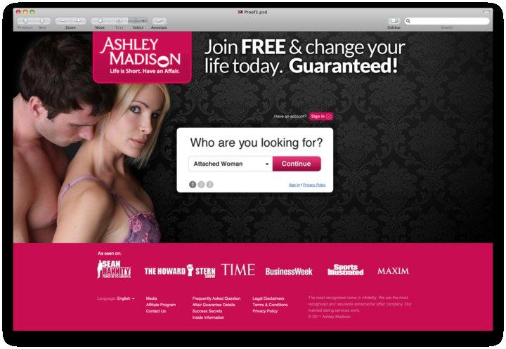 Enga a ashley madison a sus usuarios sobre la ausencia - Ashley madison espana ...
