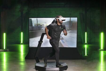 Virtuix Omni One, 2000 dólares por una cinta de correr en 360 grados para realidad virtual