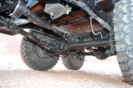 1942 Dodge Power Wagon 6x6 Moab Rear Driveshafts Traveling From T Case To Axle