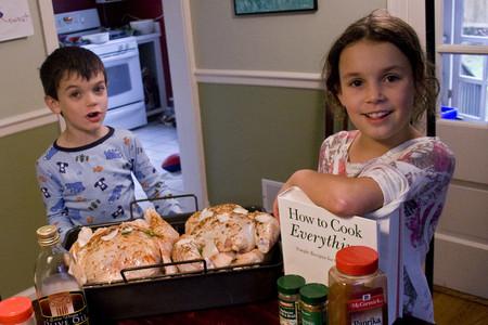 Utensilios, libros y cursos de cocina para niños