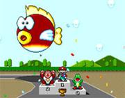 El pez globo volador de Super Mario Kart (SNES)