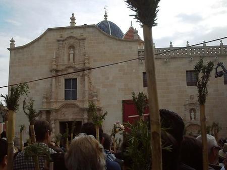 La romería a la Santa Faz en Alicante