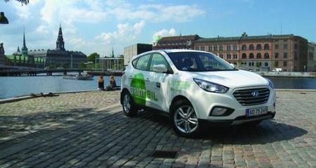Hyundai entrega en Europa los primeros ix35 FCEV