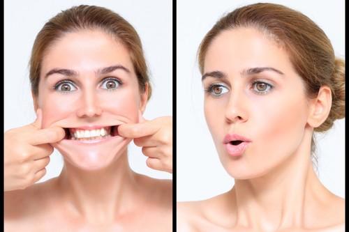 Los músculos de la cara también se entrenan: así es como el Yoga facial te hace parecer más joven