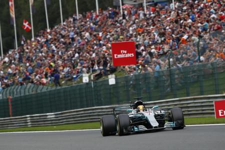 Lewis Hamilton pole y récord en Spa-Francorchamps