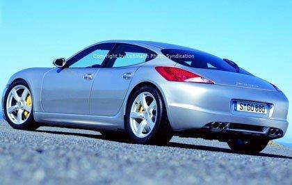 Primeras fotos espías del Porsche Panamera