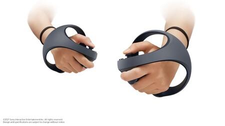 Así son los controladores del nuevo dispositivo de realidad virtual de Sony para PS5, que harán uso de las funciones del DualSense