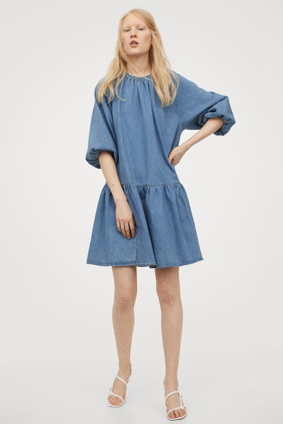 Vestido denim ideal