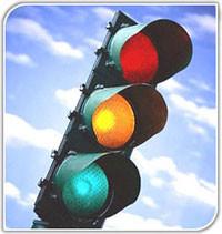 ¿Por qué son así los colores de un semáforo?