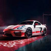 Porsche 718 Cayman GT4 Sports Cup Edition, conmemorando 15 años de competencia