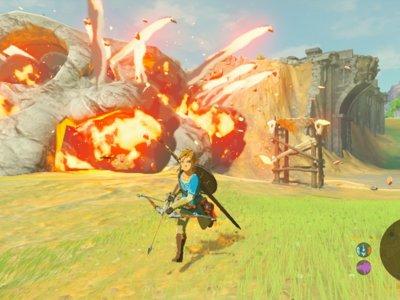 El nuevo gameplay de Zelda: Breath of the Wild muestra el poder de las runas