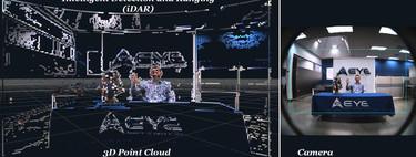 ¿Un coche autónomo que ve casi como un humano? Los nuevos LIDAR consiguen eso y mucho más