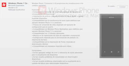 Windows Phone Connector se actualiza para Mac