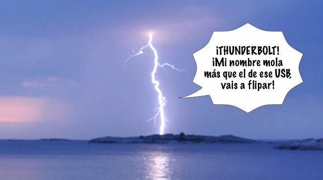 thunderbolt rayo